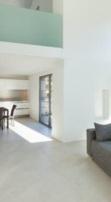 vloer van beton woonkamer