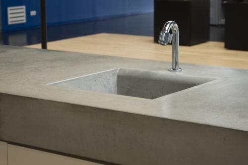 Betonlook aanrechtblad kosten huishoudelijke apparaten for Goedkope stukadoor