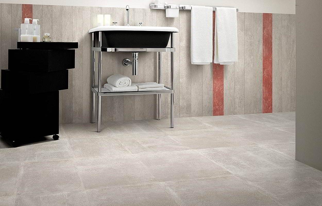 badkamer betontegels