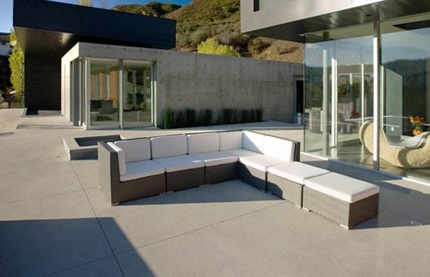 betontegels binnen buiten