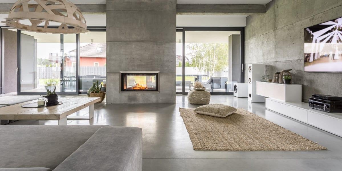 betonvloer minimalisme